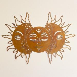 2 suns moon