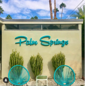 Palm Springs sign photo