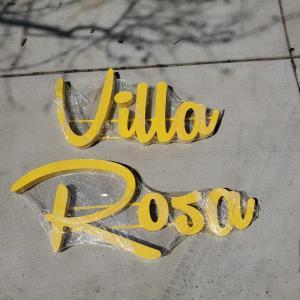 VintageSignDesign 21.1.9 Villa Rose