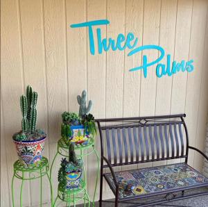 Vintage Sign Design 21.1.5 Three Palms